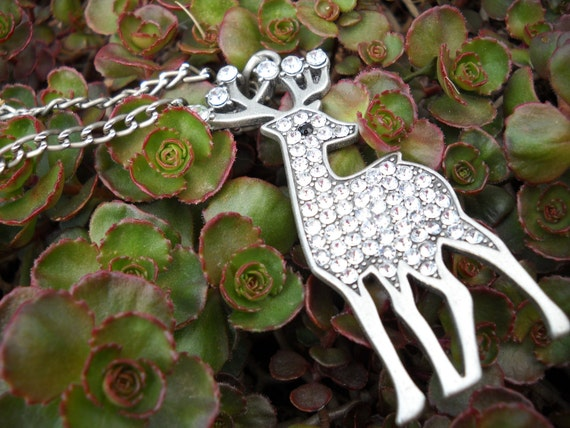 My Deer Pendant Necklace
