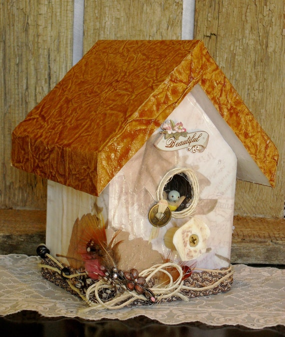 Unavailable listing on etsy - Decorating with bird houses ...