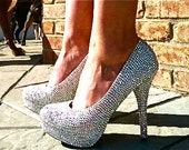 Swarovski AB Crystal Pumps