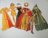 Vintage Bette Davis Collectible Paper Doll