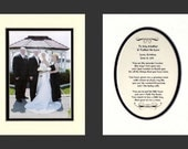 Weddings Two To My Mother and Father-In-Law  Personalized Gift Bridal Favor Bride Groom Parents Thank You