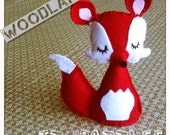 Woodland FOX- rattle toy