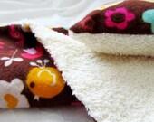Bath - Peace Baby Hippie Bath Set - Pink, Brown, Yellow, Teal & Cream