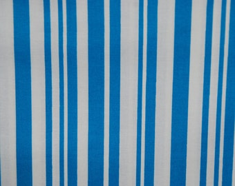 Maywood Studio fabric LUNA Blue and White Stripes