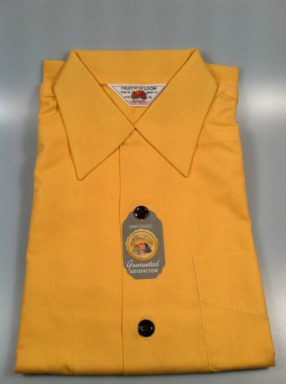 1950's Vintage Fruit of the Loom Boy's Shirt-NOS