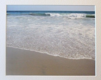 8 x10 photo of Huntington Beach, ocean, California, blue, waves