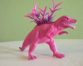 Dinosaur Planter - Pink T-rex