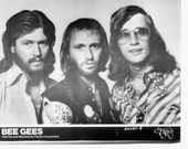 Bee Gees Publicity Photo     8 by 10 inches
