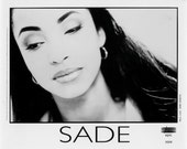 Sade Publicity Photo    8 by 10 inches
