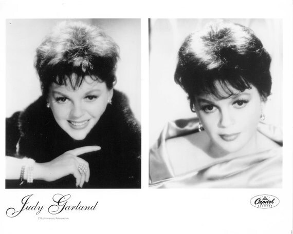 Judy Garland Publicity Photo     8 by 10 inches