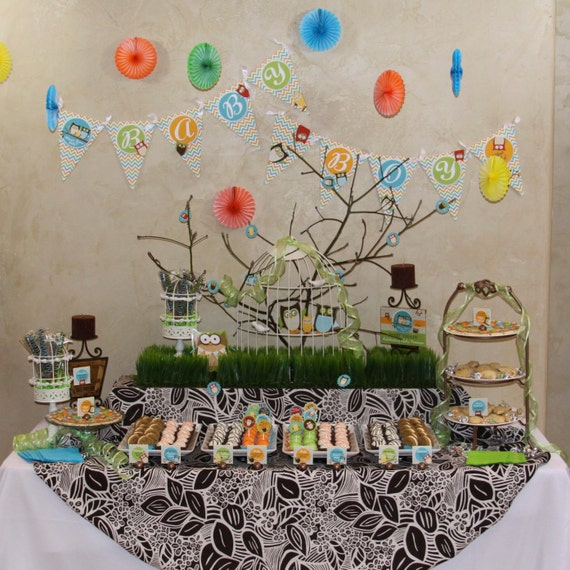 Items Similar To Owl Baby Shower DIY Party Printables