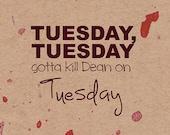 Tuesday, Tuesday