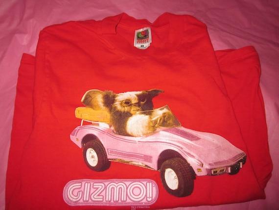 RESERVED: Vintage Red Gremlins GIZMO Tshirt