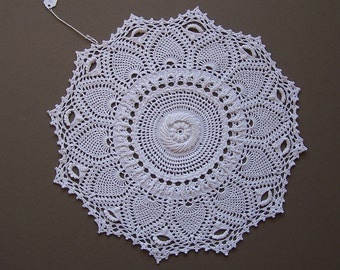 Three dimensional doily