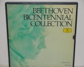 Beethoven Bicentennial Collection - Concertos Vol. III - Deutsche Grammophon 1972 - Vintage VInyl 5 LP set w/ booklet  - Record Album