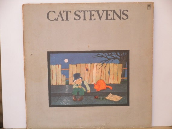 Vintage Gatefold Vinyl - Cat Stevens - Teaser and the Firecat with Morning has Broken - A&M Records - 1971