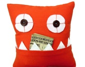 Orange Tooth Fairy Pillow