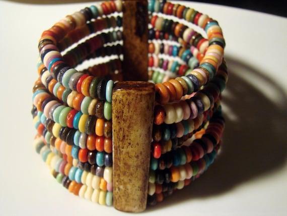 Colourful Summer Vintage Bracelet