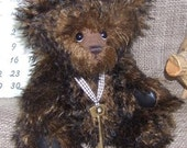 Ooak 11inch Schulte Mohair Artist Bear Lemmy Long Haired Collectable