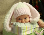 Honey Bunny Hat Pink and Blue