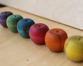 Playful Peck of Sort and Count Apples in SUMMER RAINBOW