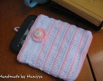 Nook Simple Touch Crochet Sleeve Jacket Cover Case