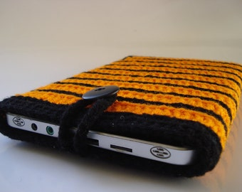 Nook case - Nook color case - Nook tablet case - handmade crochet