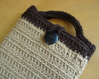 "Handmade crochet cover for Nook 7"" Tablet"