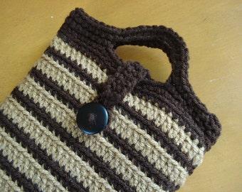 Nook Tablet or Kindle Fire, Crochet Sleeve Jacket Cover Case