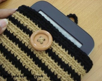 Nook Simple Touch crochet cover - case - sleeve - bag - handmade