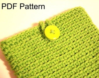 Crochet Pattern for Nook or Kindle device ereader