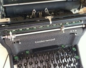 Price reduced antique Underwood Manual Typewriter, Underwood Elliott Fisher co. Made in the USA