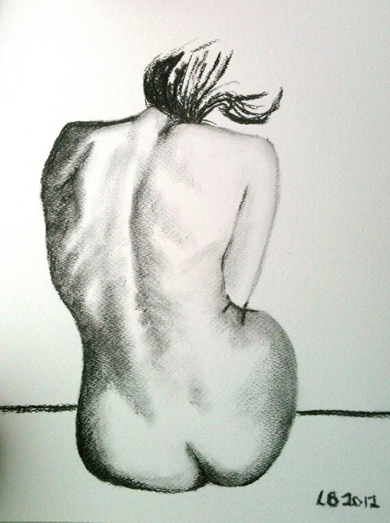 Womans Back Drawing Woman 39 s Back Drawing 11 5 Quot