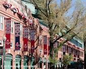 10x8 Photograph, Image, Print, Art, Decoration, Boston, Massachusetts, Fenway Park, Baseball, Pennants