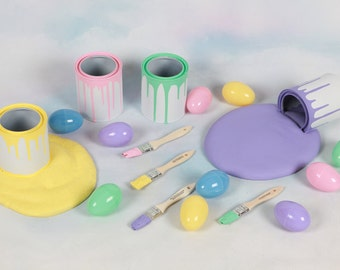 Easter Egg Painting Set, Photo Prop,Photography prop,Egg,Easter,eggs,Easter eggs,Easter photography prop,Easter mini session,Easter prop