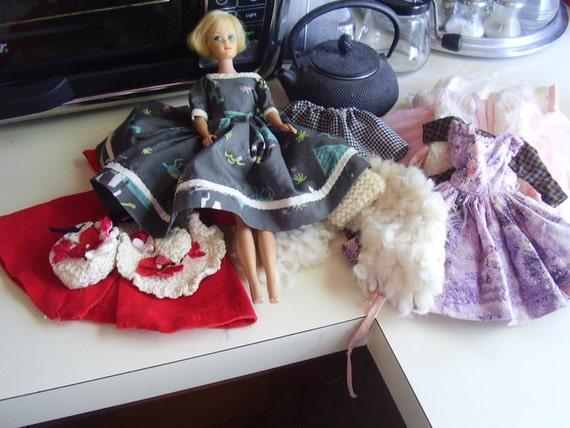 Vintage 1960s Barbie Clothes Lot