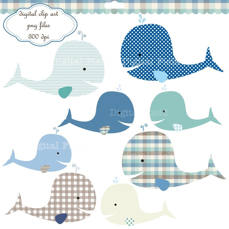 clipart baby shower whale - photo #35