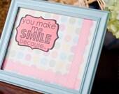 You Make Me Smile message board