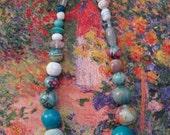 Fairytale Decoupage Necklace