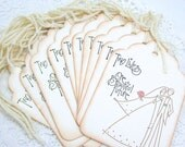 XL WiSHiNG TREE Tags- Escort Cards-Wedding Shower-Wedding Decoration-DIY Tag-Place Cards-Favors-Bridal Showers