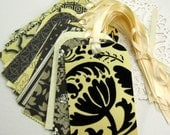 Wedding Guest Book Alternative Wish Cards-Tags-Wedding Shower- Wedding Decoration- DIY, Place Name Cards- Favor Tags-Bridal Showers