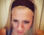 Black - Medium Lace Headband