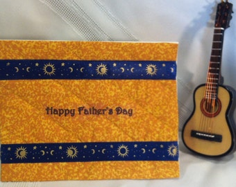 Quilted Father's Day Card