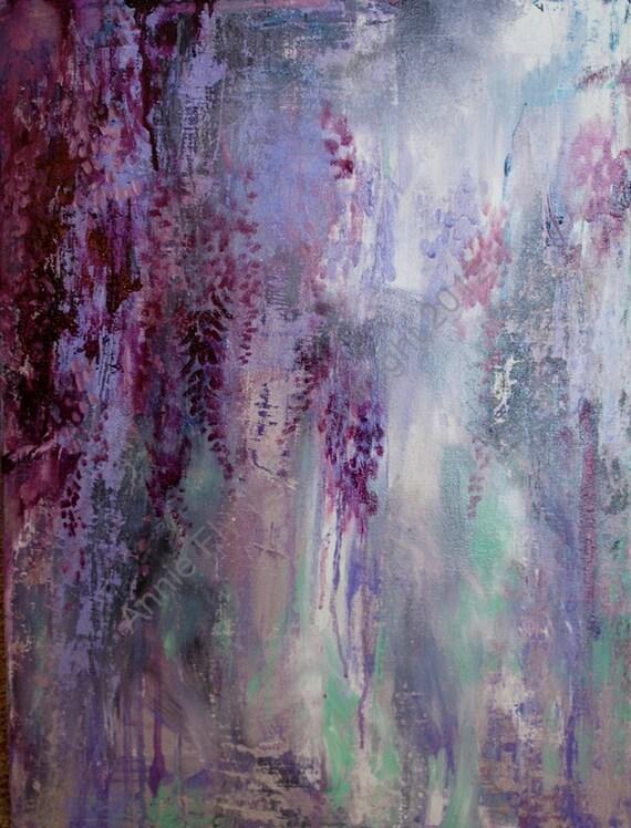 Impromptu Wisteria in Deep Violet