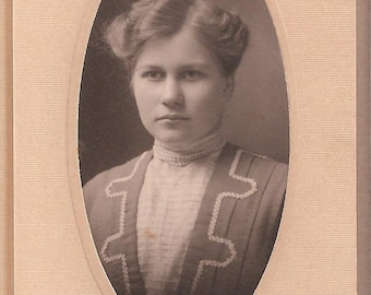 Antique Photo of a Young Woman