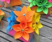Flower Centerpieces Rainbow Multicolor