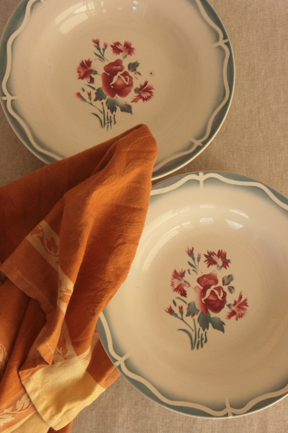French Country Kitchen Antique French Plates Sarreguemines