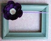 Newborn Headband Baby Headband Infant Headband Toddler Headband Purple Lavender Flower Headband