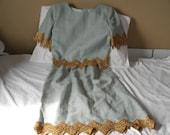 Vintage William Pearson linen dress