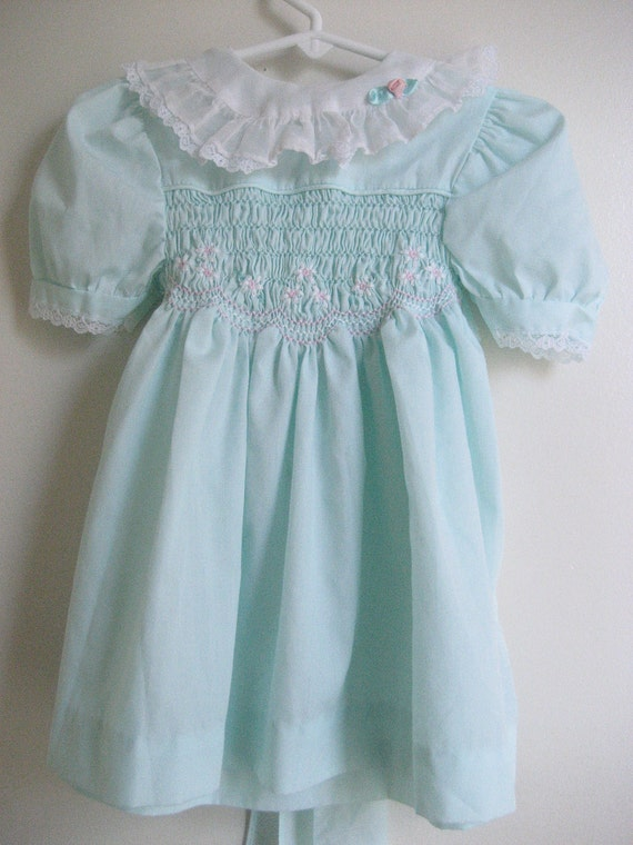 Girl's Pale Blue Summer Dress size 2T